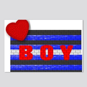 LEATHER PRIDE/BOY/BRICK Postcards (Package of 8)