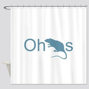 Oh Rats Shower Curtain