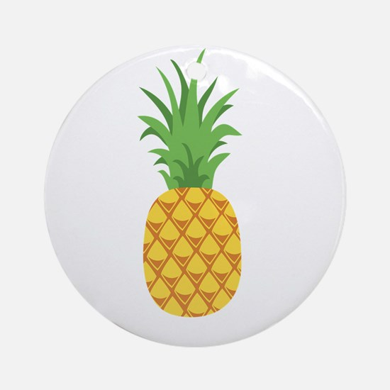 Pineapple Fruit Ornament (Round)