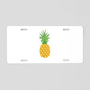 Pineapple Fruit Aluminum License Plate