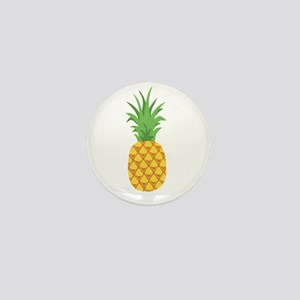 Pineapple Fruit Mini Button