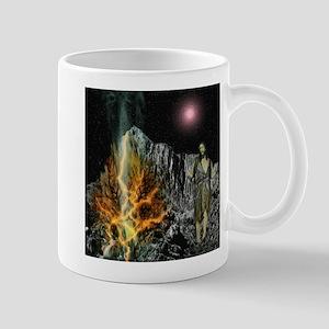 Moses And The Burning Bush Mugs