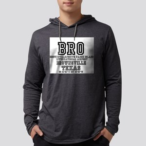 US - TEXAS - AIRPORT CODES - B Long Sleeve T-Shirt
