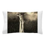 Jesus Crucifixion Scene Pillow Case