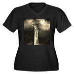 Jesus Crucifixion Scene Plus Size T-Shirt