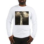 Jesus Crucifixion Scene Long Sleeve T-Shirt