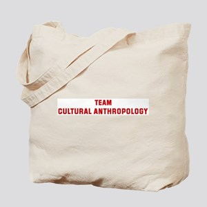 Team CULTURAL ANTHROPOLOGY Tote Bag