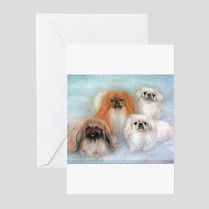 PRNI Pekingese Rescue Greeting Cards