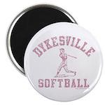 Dykesville Softball Magnet