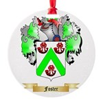 Foster Round Ornament