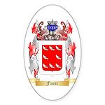 Fosse Sticker (Oval)