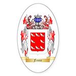 Fosse Sticker (Oval 50 pk)