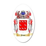 Fosse 20x12 Oval Wall Decal