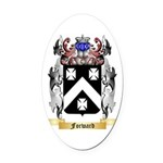 Forward Oval Car Magnet