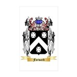 Forward Sticker (Rectangle 50 pk)