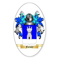 Fortoly Sticker (Oval)