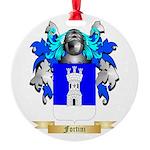 Fortini Round Ornament