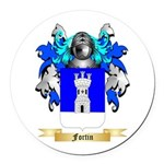 Fortin Round Car Magnet