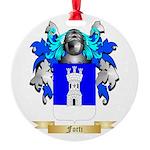 Forti Round Ornament