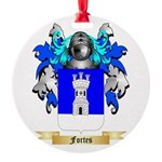 Fortes Round Ornament