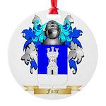 Forte Round Ornament