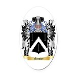Forster Oval Car Magnet