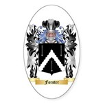 Forster Sticker (Oval 50 pk)