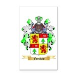 Forshaw Rectangle Car Magnet