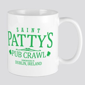 St Pattys Pub Crawl Mugs