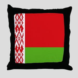 Belarus flag Throw Pillow