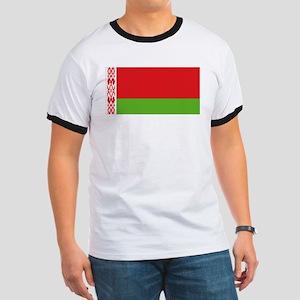 Belarus flag Ringer T
