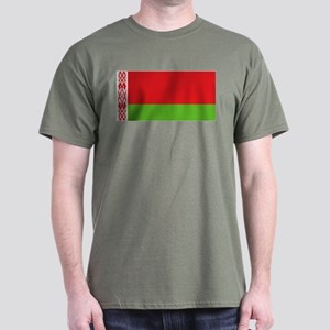 Belarus flag Dark T-Shirt
