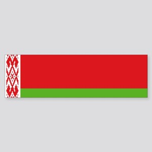 Belarus flag Sticker (Bumper)
