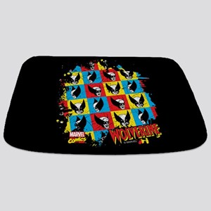 Wolverine Collage Bathmat