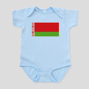 Belarus flag Infant Bodysuit