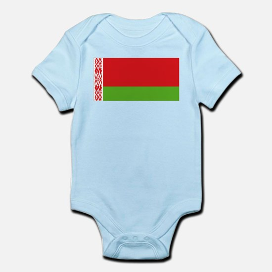 Belarus flag Infant Bodysuit