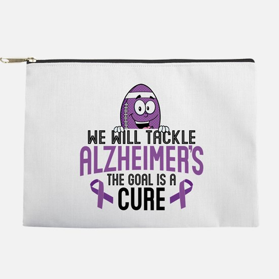 Tackle Alzheimers Makeup Pouch