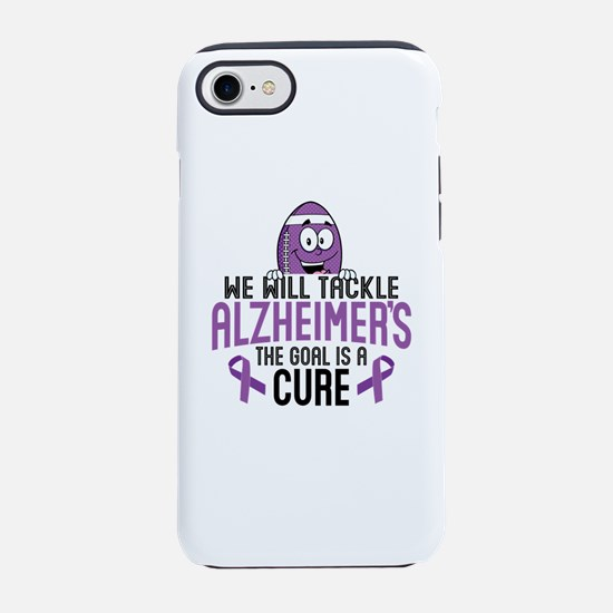 Tackle Alzheimers iPhone 7 Tough Case