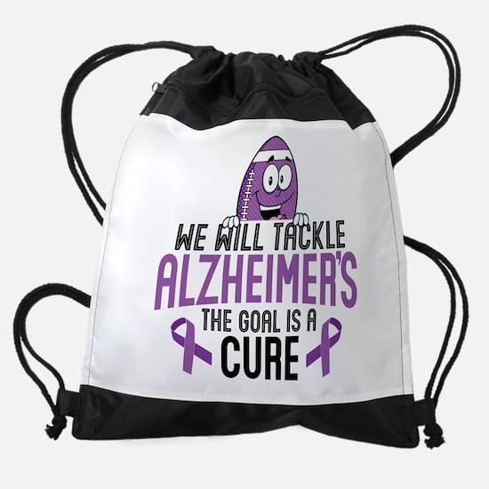 Tackle Alzheimers Drawstring Bag