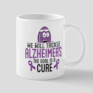 Tackle Alzheimers 11 oz Ceramic Mug