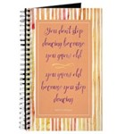"""Never Stop Dancing"" Journal"