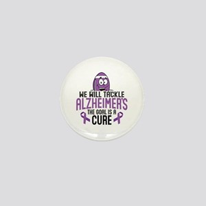 Tackle Alzheimers Mini Button
