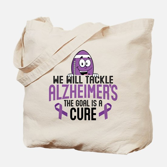 Tackle Alzheimers Tote Bag