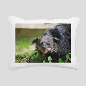 Adorable Binturong Rectangular Canvas Pillow