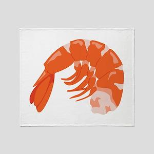 Shrimp Throw Blanket