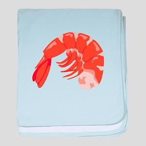 Shrimp baby blanket