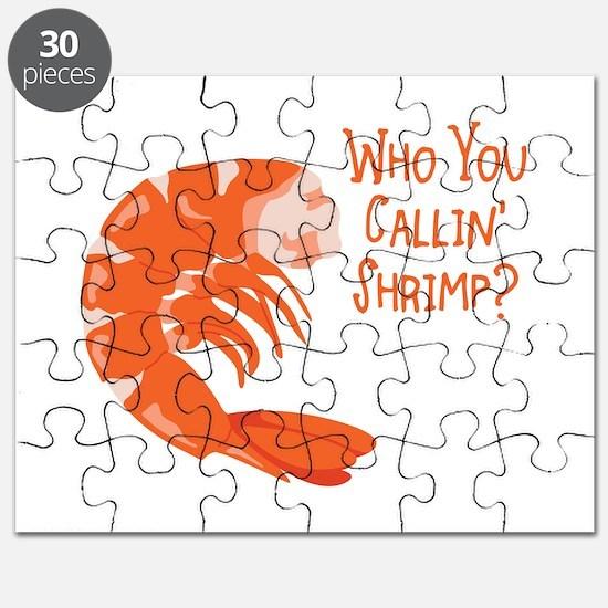 Who You Callin Shrimp? Puzzle