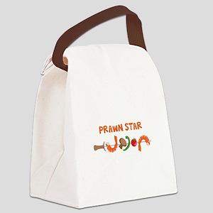 Prawn Star Canvas Lunch Bag