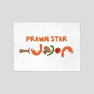 Prawn Star 5'x7'Area Rug