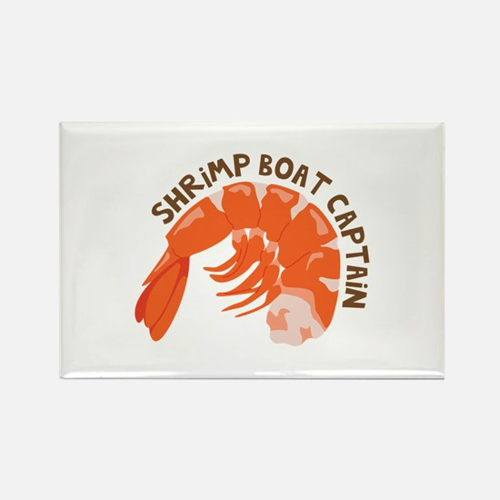 Shrimp Boat Captain Magnets
